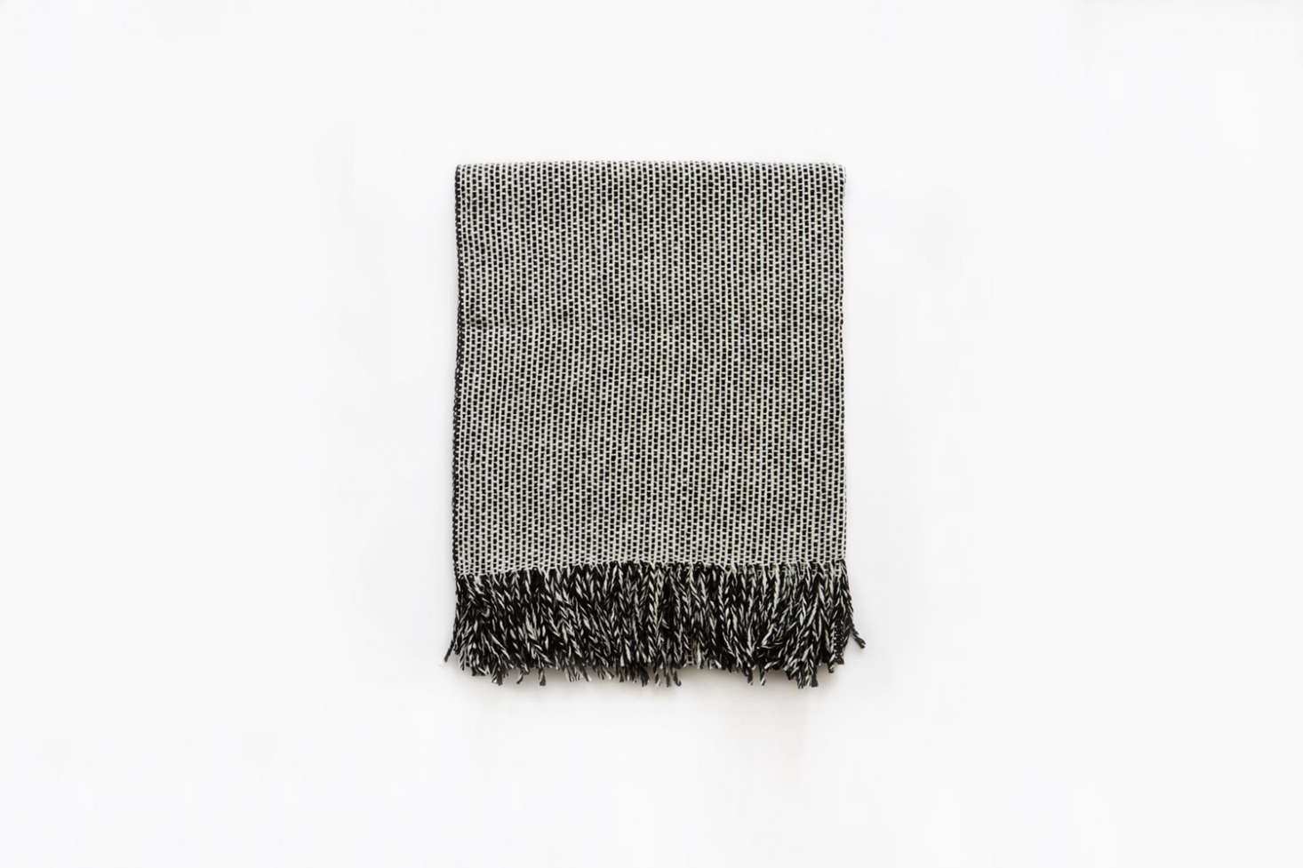 The Mourne Textiles Tweed Emphasize Blanket Monochrome III is £5 at Mourne Textiles.