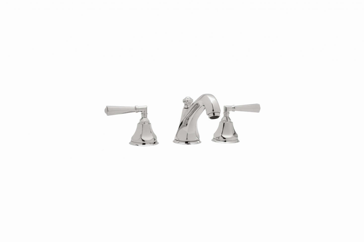 Etonnant The Rohl 3 Hole Widespread Lavatory Faucet In Chrome (shown), Nickel,
