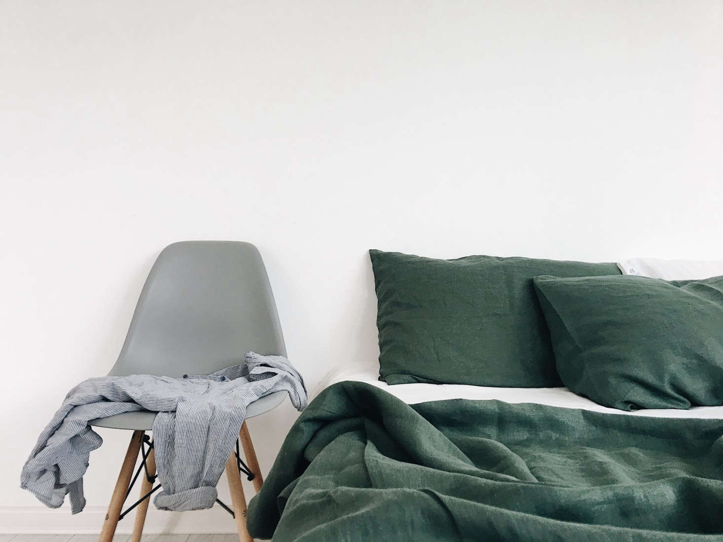 Bed Linens From Odessa In Shades Of Blue And Green