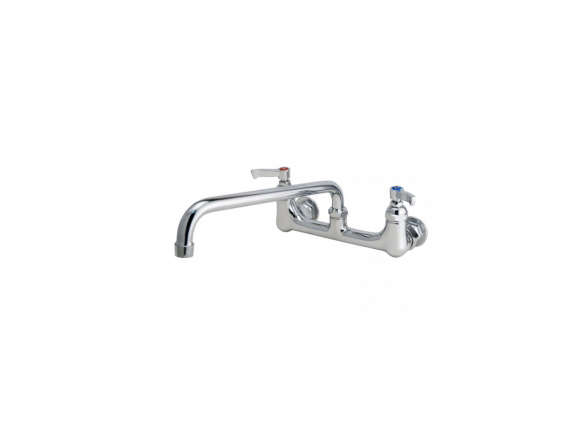 Signature Hardware Heavy Duty Wall-Mount Faucet With 12 In. Swing Spout