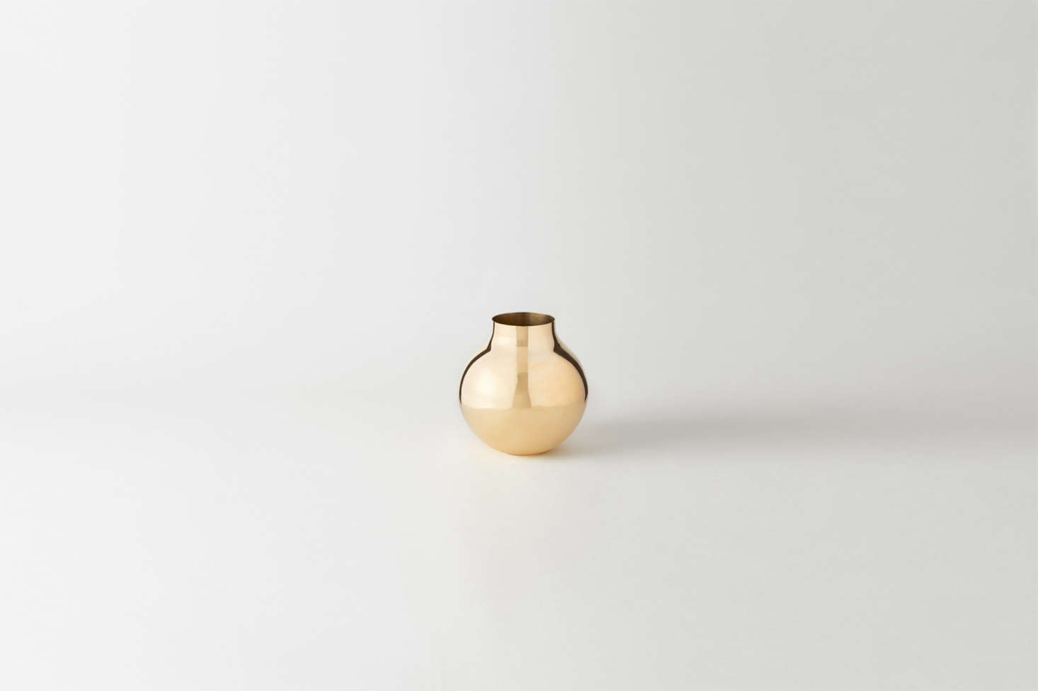 Made in Sweden, theSkultuna Brass Boule Vase is $5 at March.