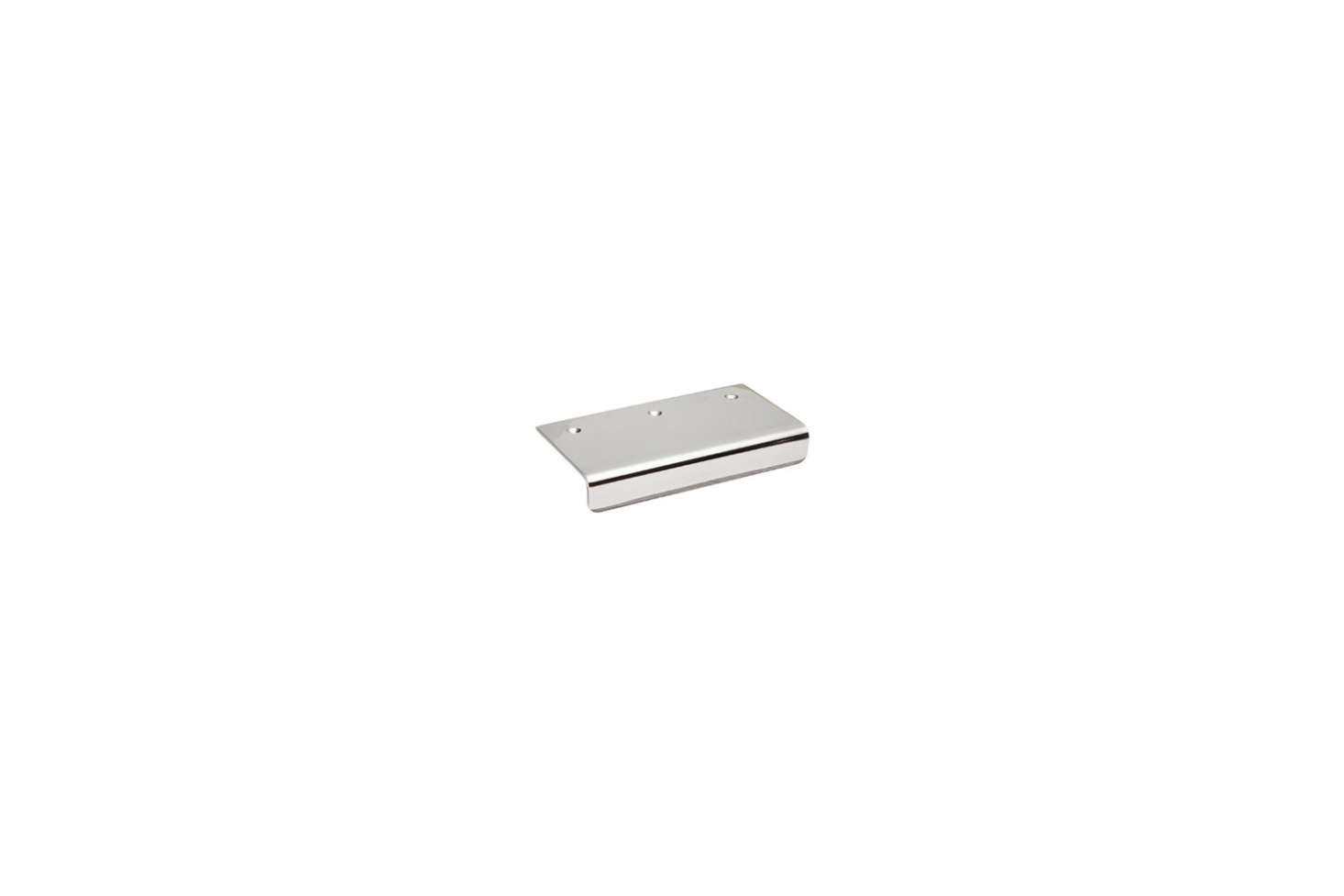 Both Julie and Francesca installedSugatsune Stainless Steel Edge Pull Handles in their Brooklyn kitchens; $12.39 for the approximately two-inch size on Amazon. For more, see10 Easy Pieces: Silver Finish Edge Pulls.