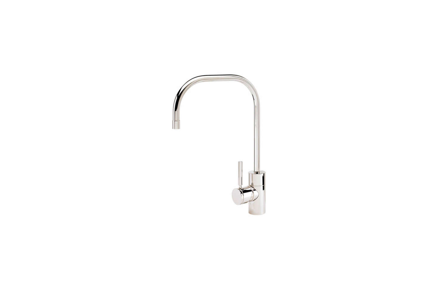 Single Handle Kitchen Faucet with Side