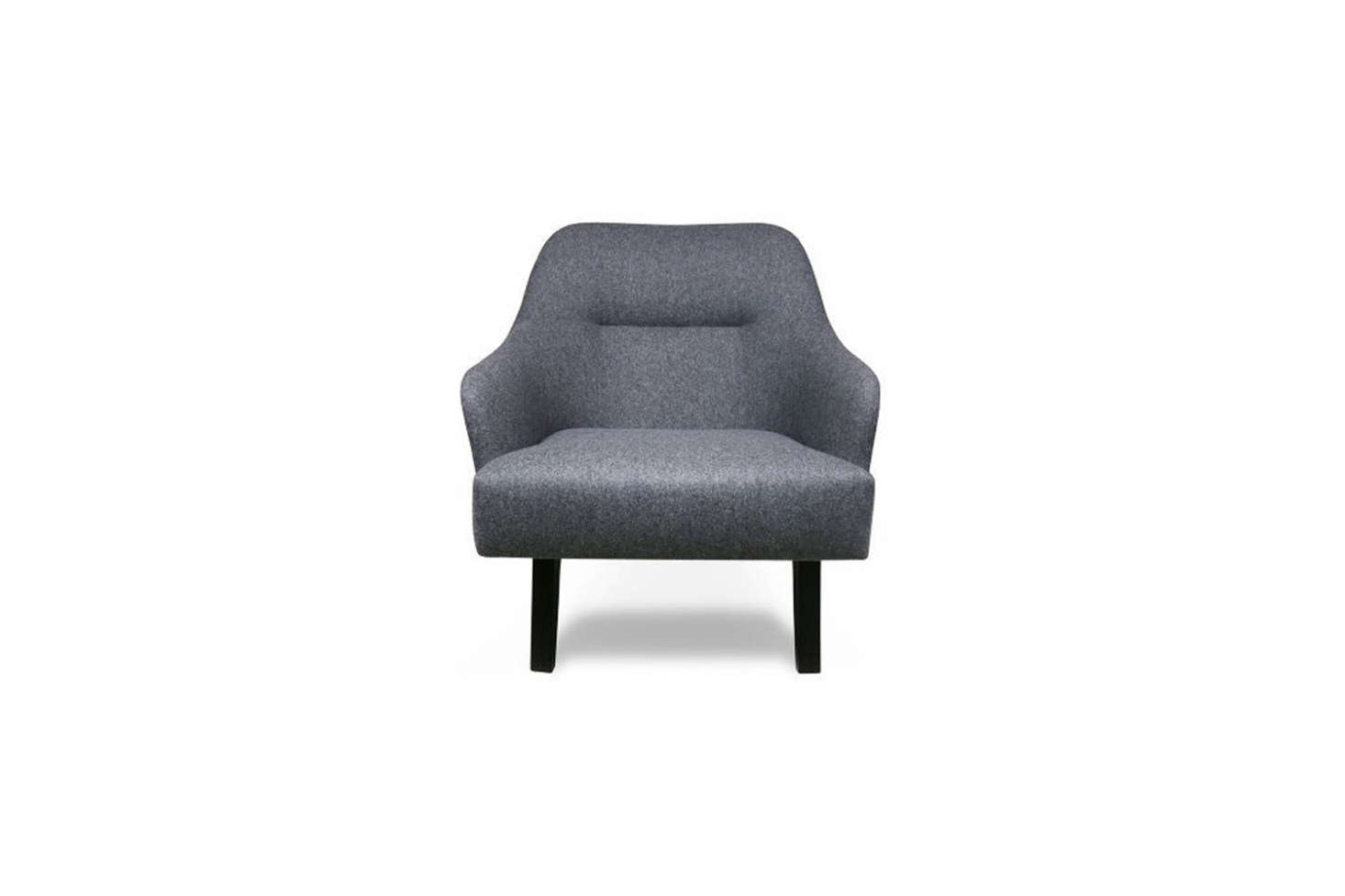 The velvet armchairs were made for the hotel by Alter London. The closest match, in shape, is Alter London's Shawfield Upholstered Chair.