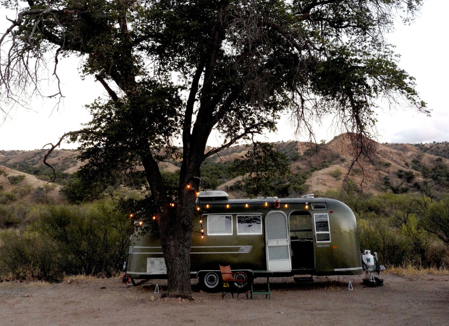 Casamidy on Wheels: An Idiosyncratic Airstream Rehab, Victorian Card Table Included