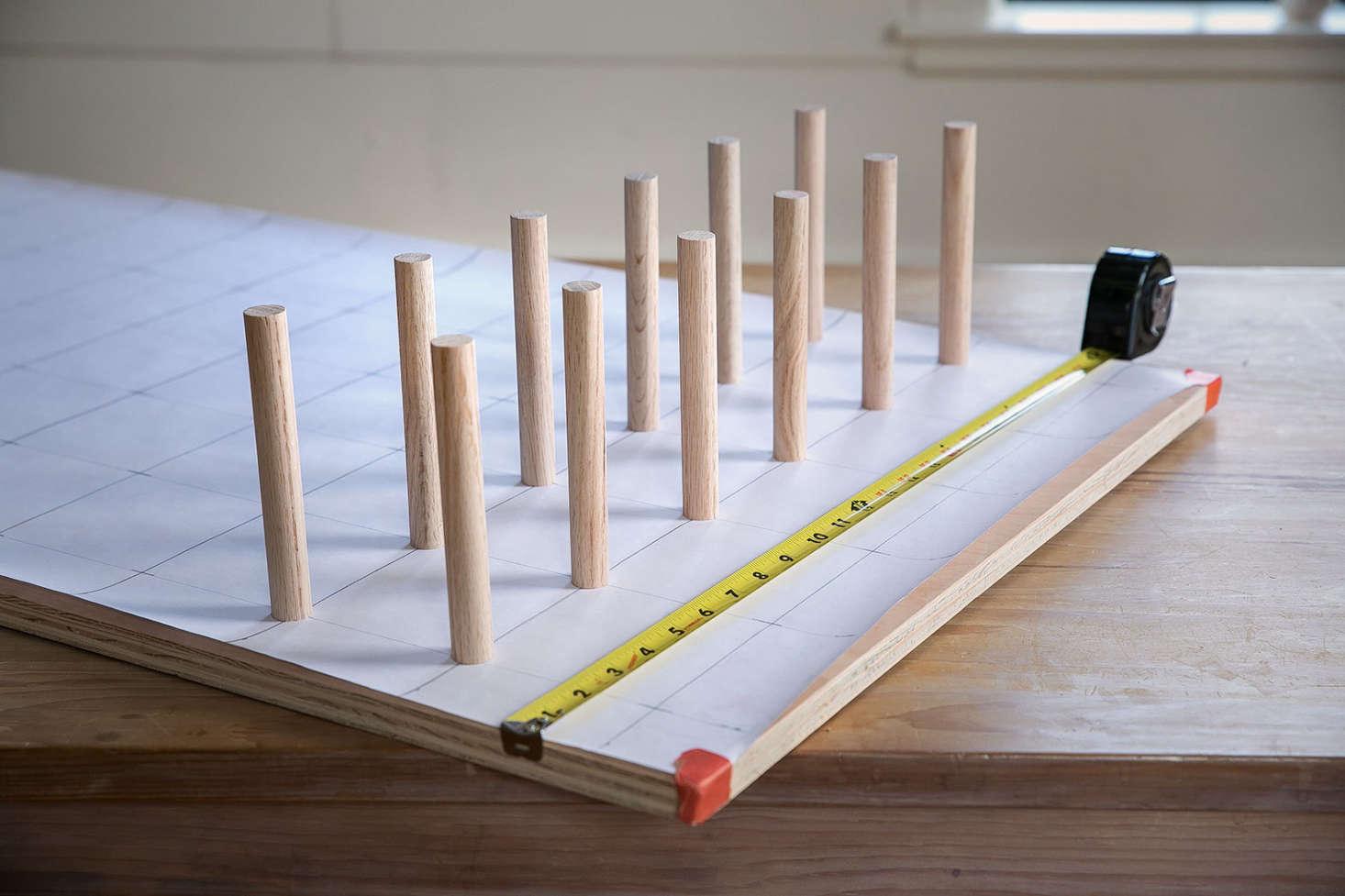 Diy A Stylish Modern Wooden Pegboard Remodelista