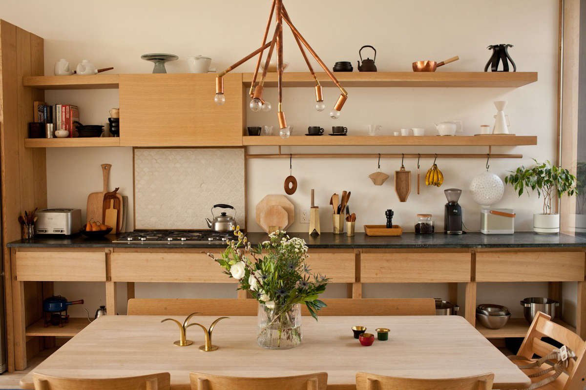 Steal This Look A Scandi Meets Japanese Kitchen In Toronto