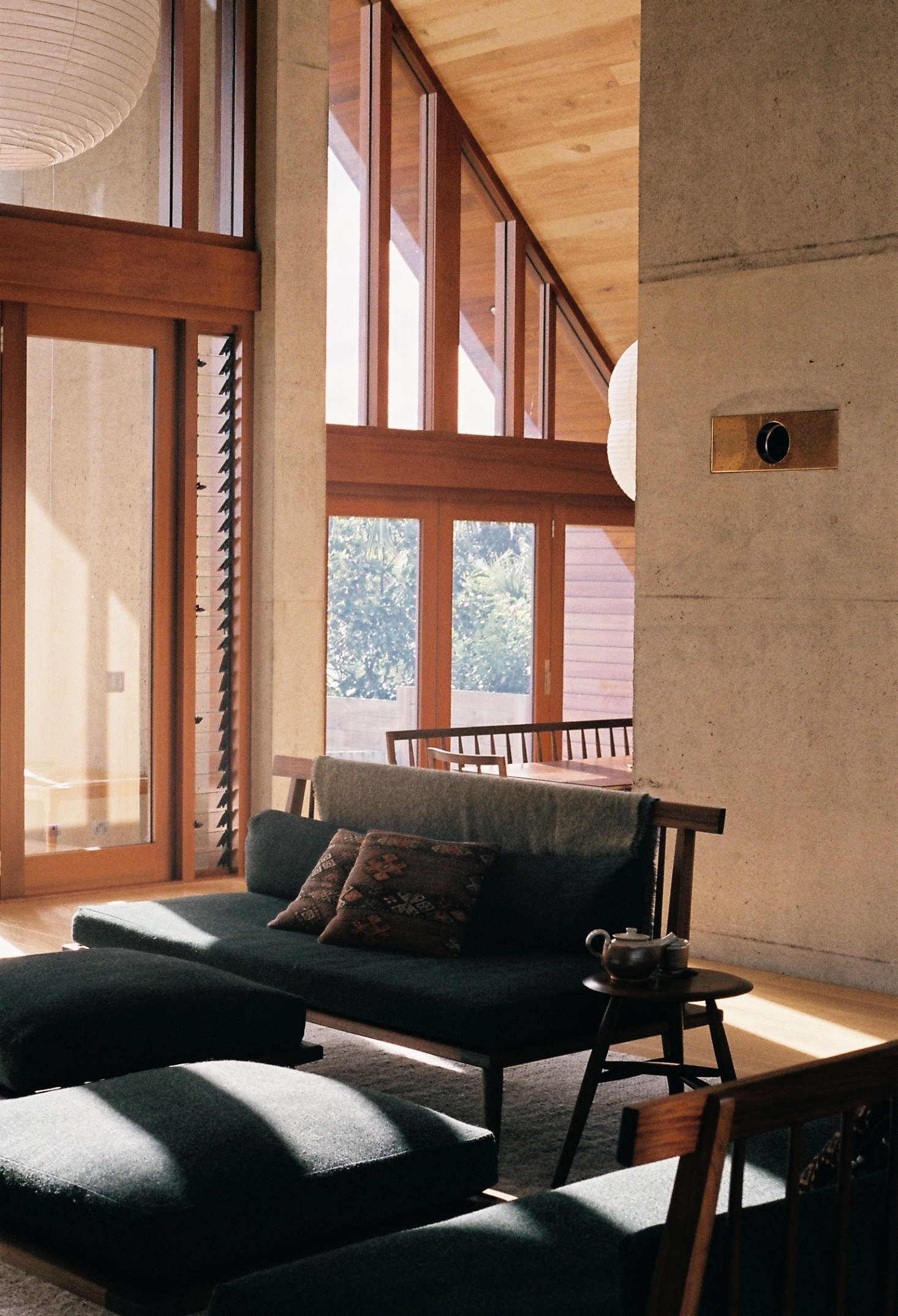 A Soulful Monastic House In New Zealand Japanese Shaker