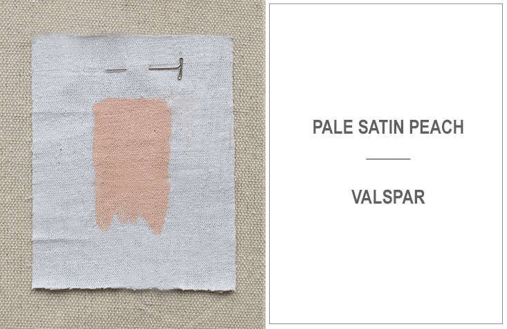 "Jon Call of Mr. Call Designs in New York City likes Valspar's Pale Satin Peach, adding, ""Fresh pinks like this bring a flush to the face and warmth to a room."""