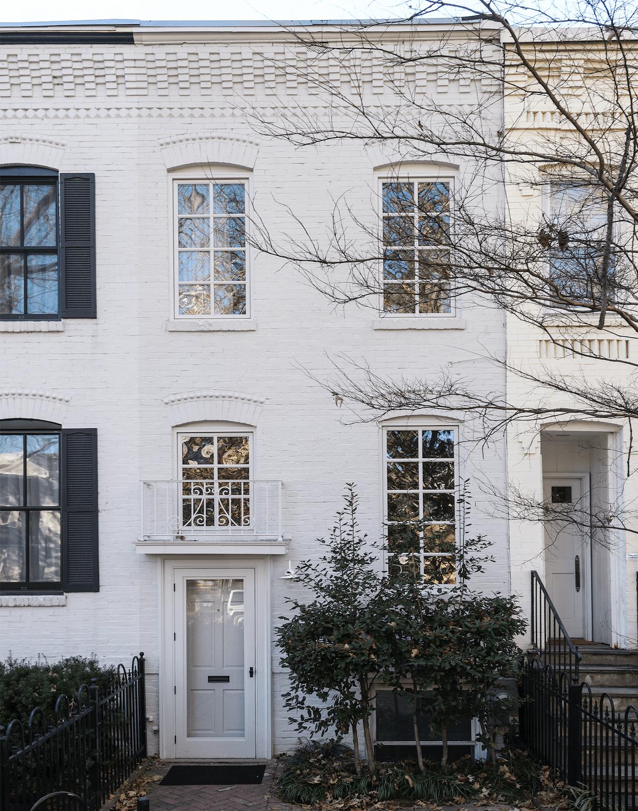 A Luminous, Euro-Style Row House in Washington, DC, Courtesy of ...