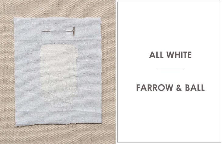"Anstruther painted the walls in All White by Farrow & Ball, which the company describes as its ""cleanest and whitest white."" For more guidance, see 10 Easy Pieces: Architect's White Paint Picks."