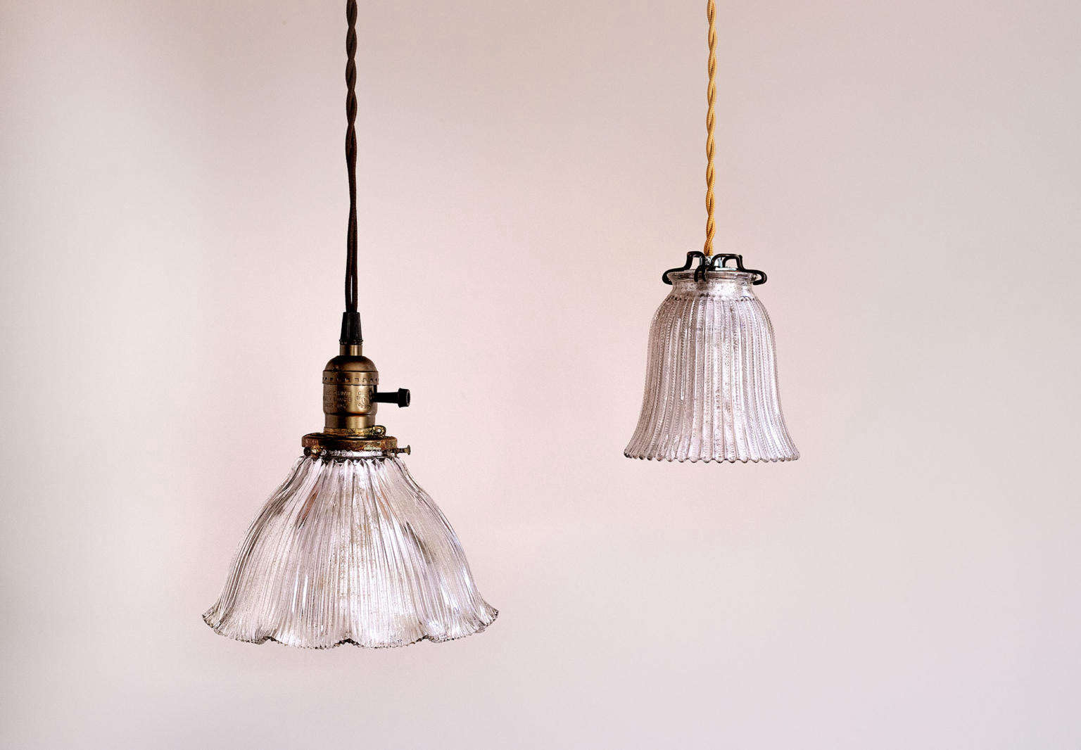 How To Make A Vintage Looking Mercury Glass Pendant Lights