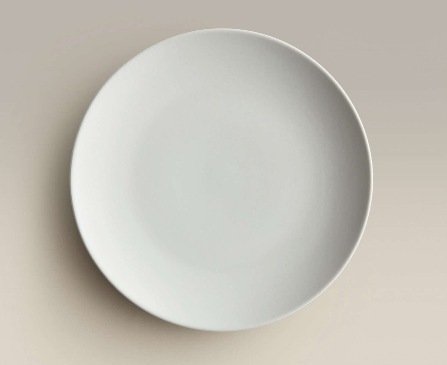 Big Plates like the one shown here in Fog is Year u0026 Dayu0027s basic & Tabletop Disruptor: Dinnerware in a Box from Year u0026 Day Ceramics ...