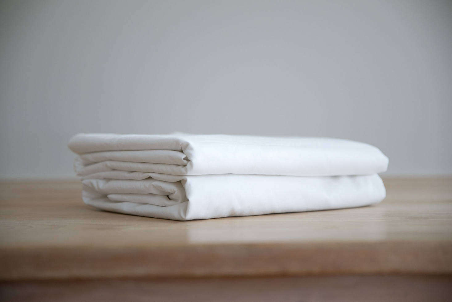 Properly Folded, Your Fitted Sheet Should Perfectly Match Your Folded Top  Sheet.