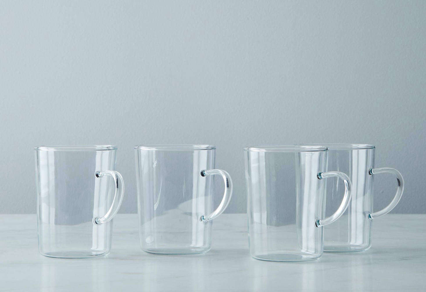 These Glass Tea Cups from French brand Palais des Thés are made in France and hold seven ounces each. They&#8
