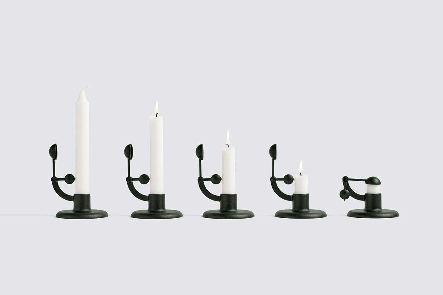 """The MoMA Design Store, yes, has a registry (and a roundup of picks called """"Modern Wedding Gifts,"""" for extra guidance.) Head there for art-y gifts and finds for the home, like this exclusive Hay Moment Candlestick Holder, $40, which we coveted inObject of Desire: A Self-Extinguishing Candlestick.An art print would also make a great gift."""
