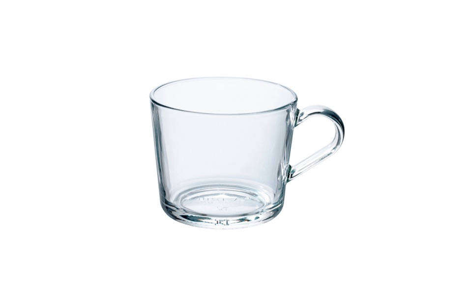 A sturdy, budget pick: this eight-ounce Clear Glass Mug is $src=
