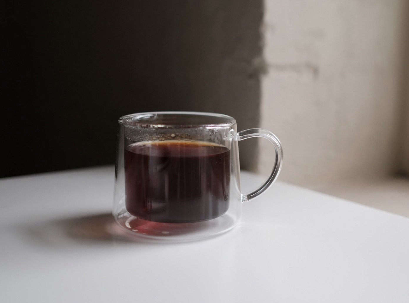 ThisGlass Mug from Japanese brand Claska has a double-wall design to keep tea hotter longer. It&#8