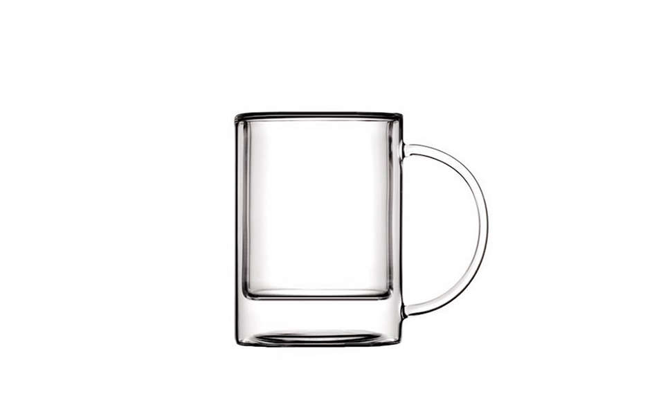 This double-walledClassic Glass Cup fromParis-based Silodesign holds five ounces of tea and comes with a clear glass lid; $40 at Luminaire.