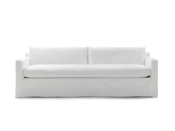 Awesome Hunter Long Slipcovered Sofa Beatyapartments Chair Design Images Beatyapartmentscom