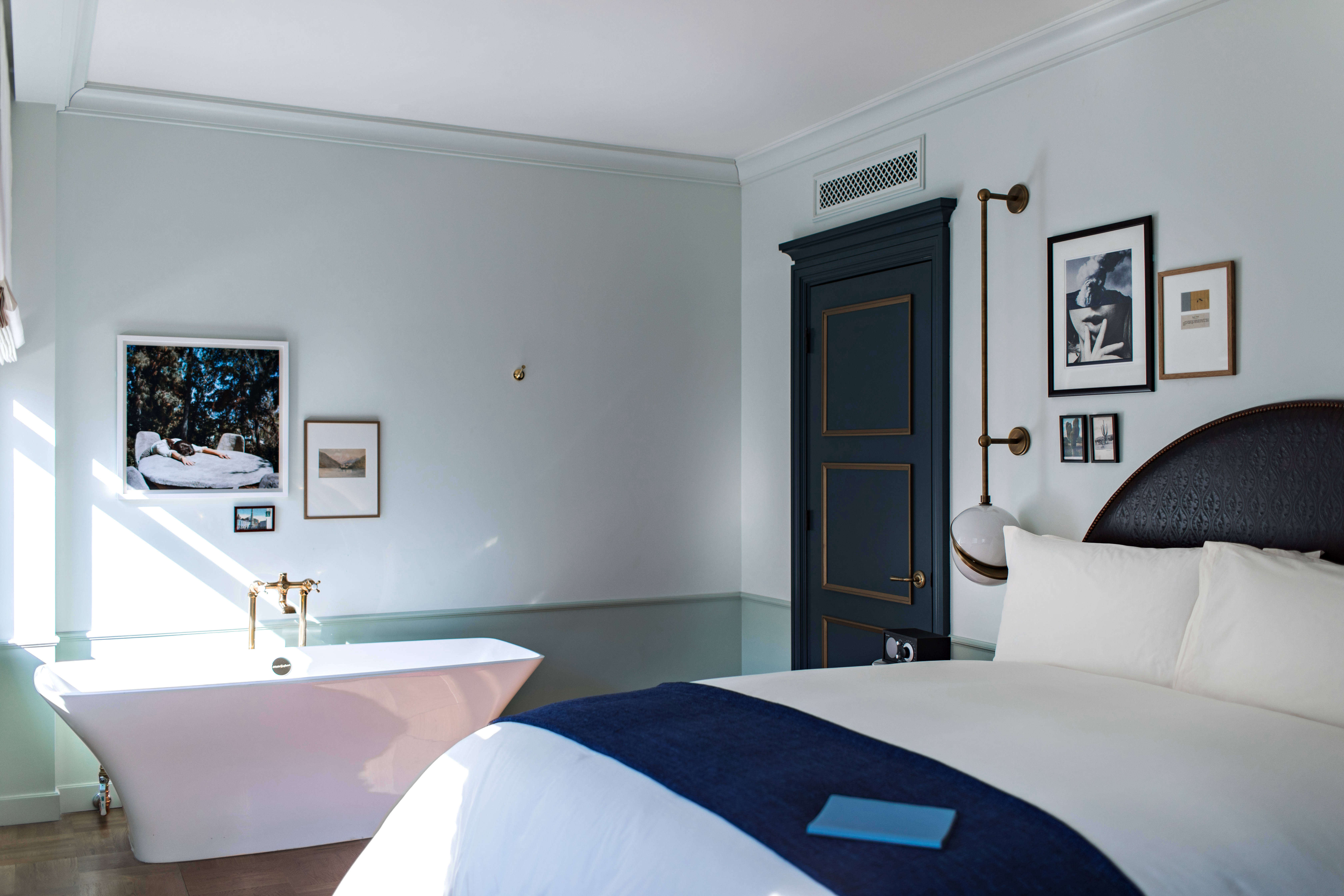 Steal This Look: Luxe Bedroom at the New NoMad Hotel in Los Angeles ...