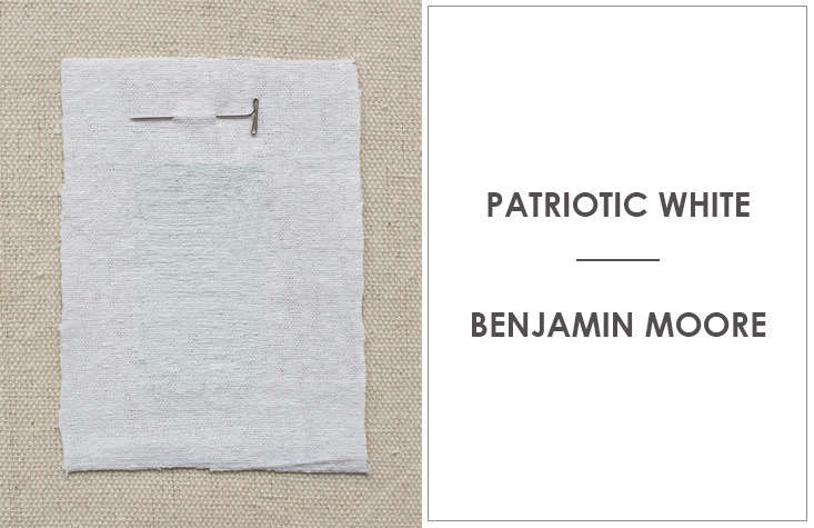 Patriotic White By Benjamin Moore Is A Favorite Of Kriste Michelini Interiors