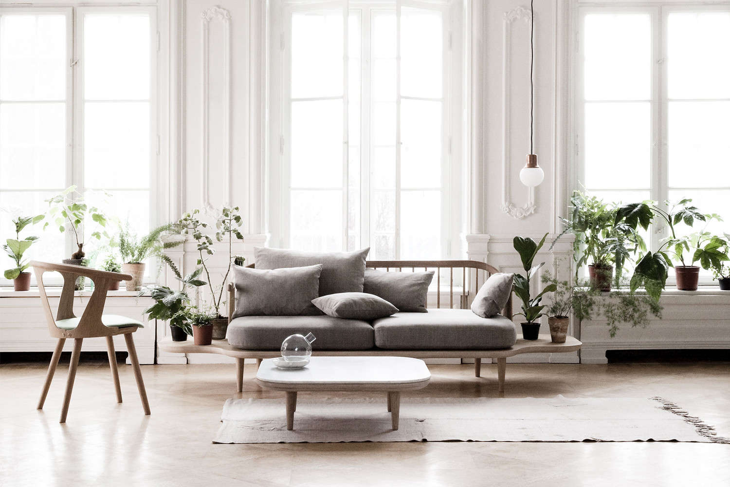 ... Space Copenhagen For U0026Tradition Has Been On Our Radar For A While Now,  So When We Came Across The Kalmar Armchair, Ottoman, And Sofa At  Anthropologie, ...