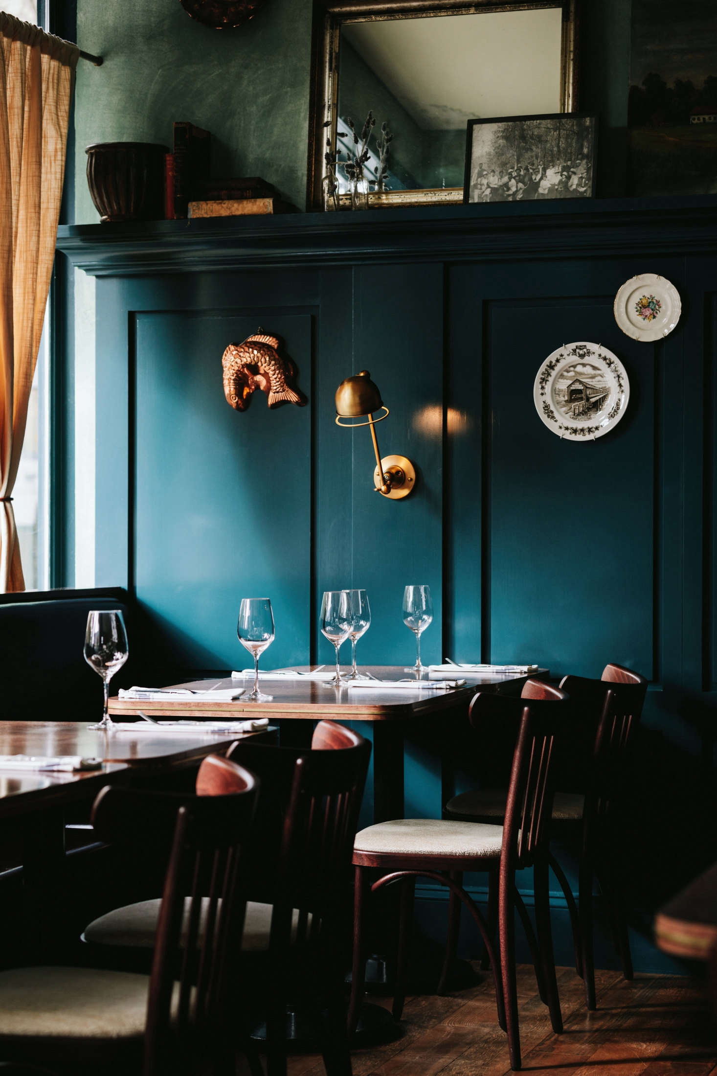 St lawrence in vancouver a sultry blue hued bistro