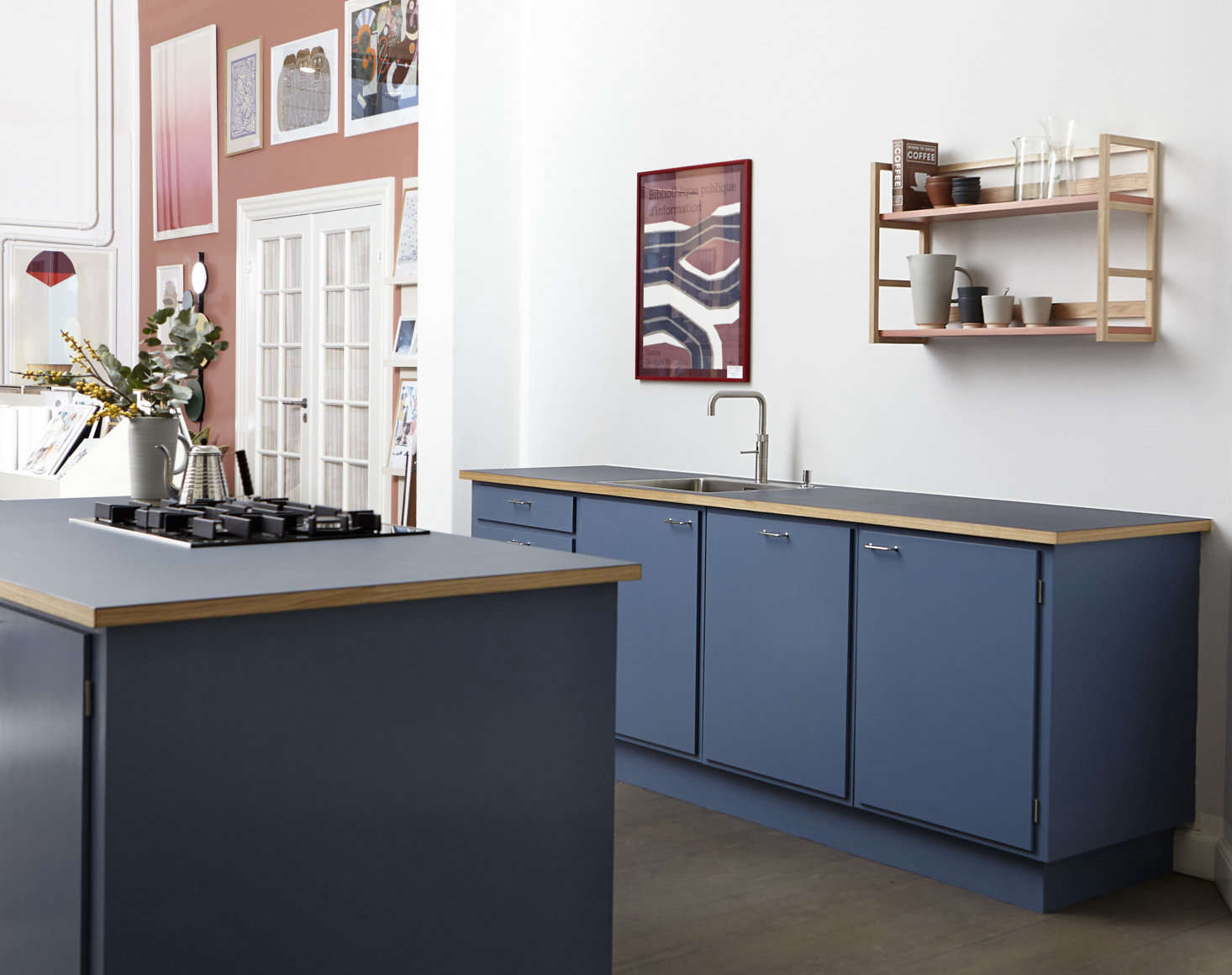 Kitchen of the Week: The Updatable Kitchen from Stilleben Kitchen in Copenhagen