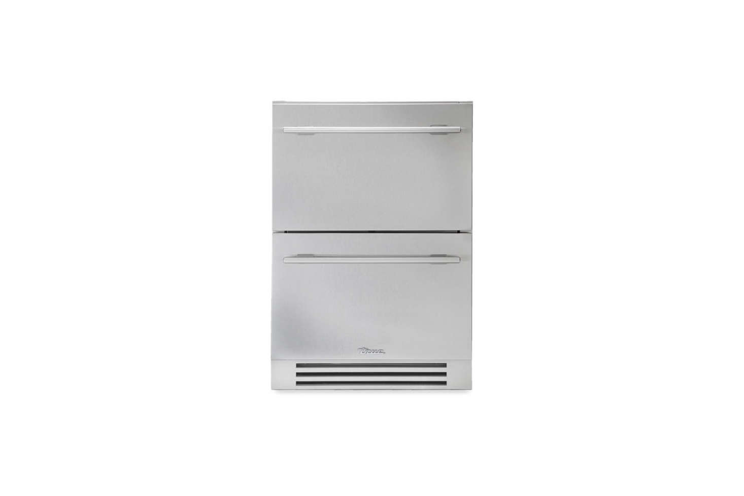 True Residential 24 Inch Stainless Steel Under Counter Refrigerator Drawers Have The Option Of