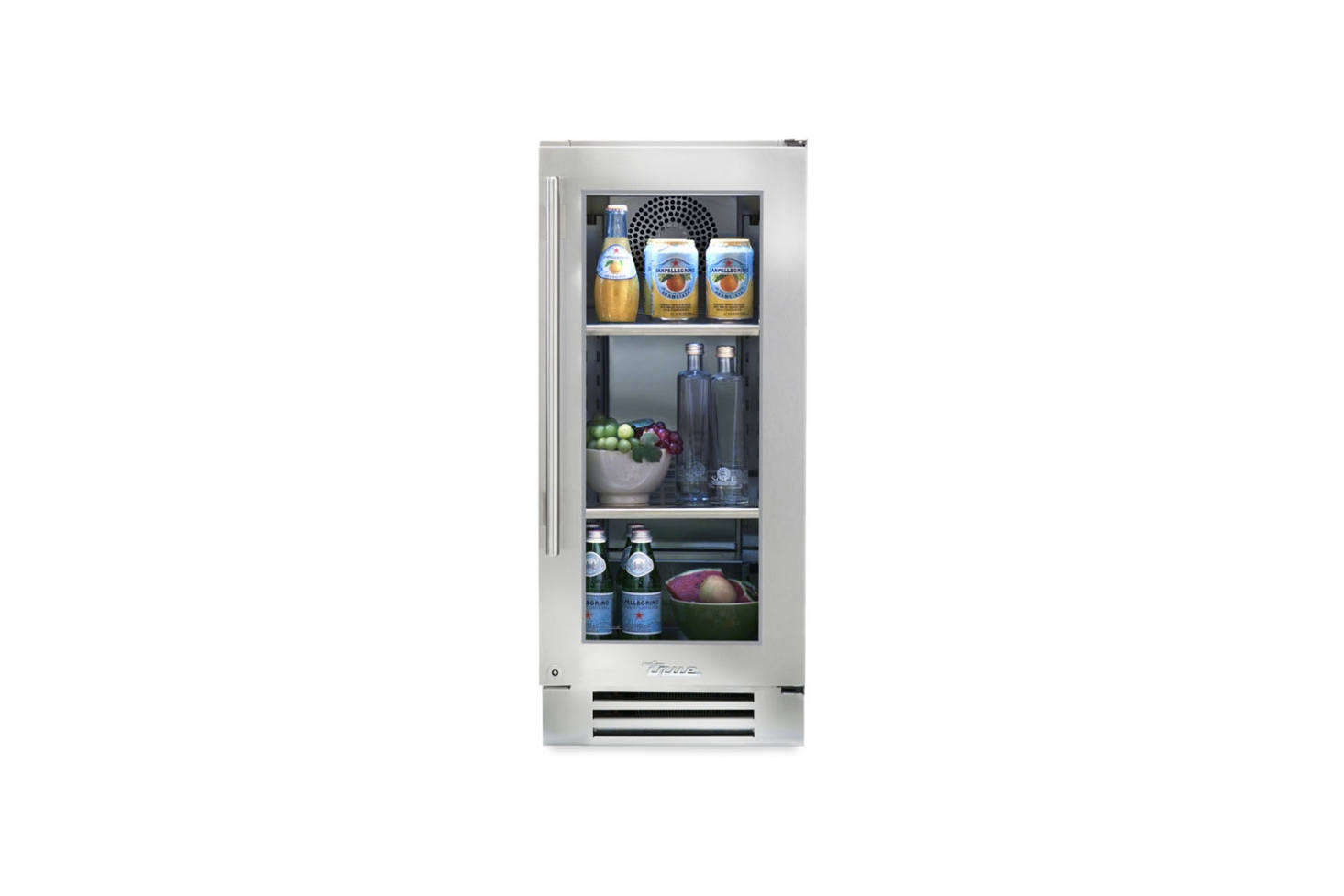 The True Residential Undercounter 15 Inch Refrigerator Is Ultra Narrow And  Features A Glass