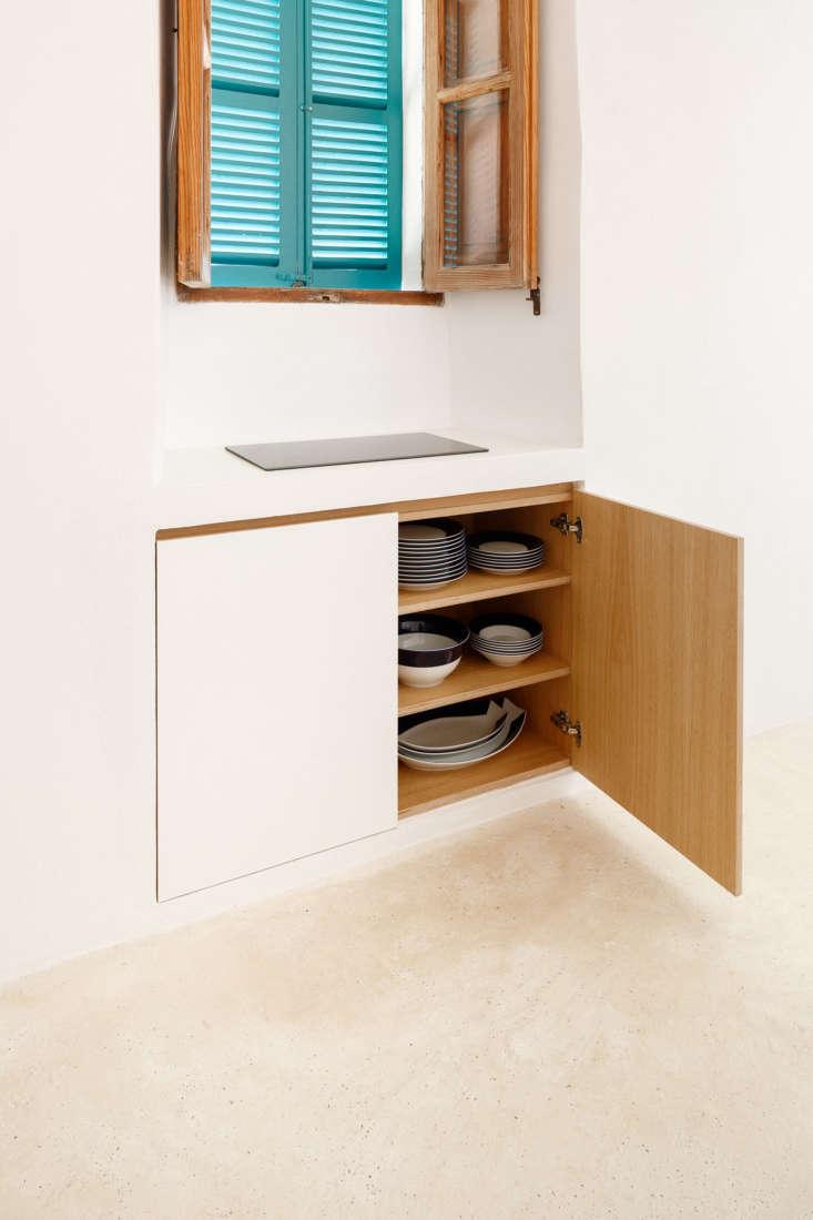 Storage Under Kitchen Range at Can Rei in Mallorca by Isla Works