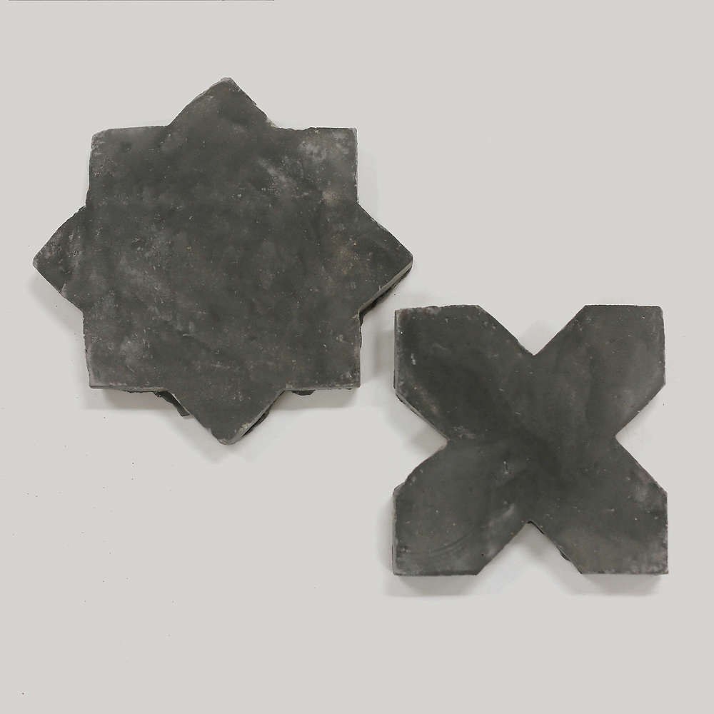 The star and cross shapes nestle together both horizontally and vertically. The Star & Cross Bundle is $. per square foot, with a minimum order of seven square feet.