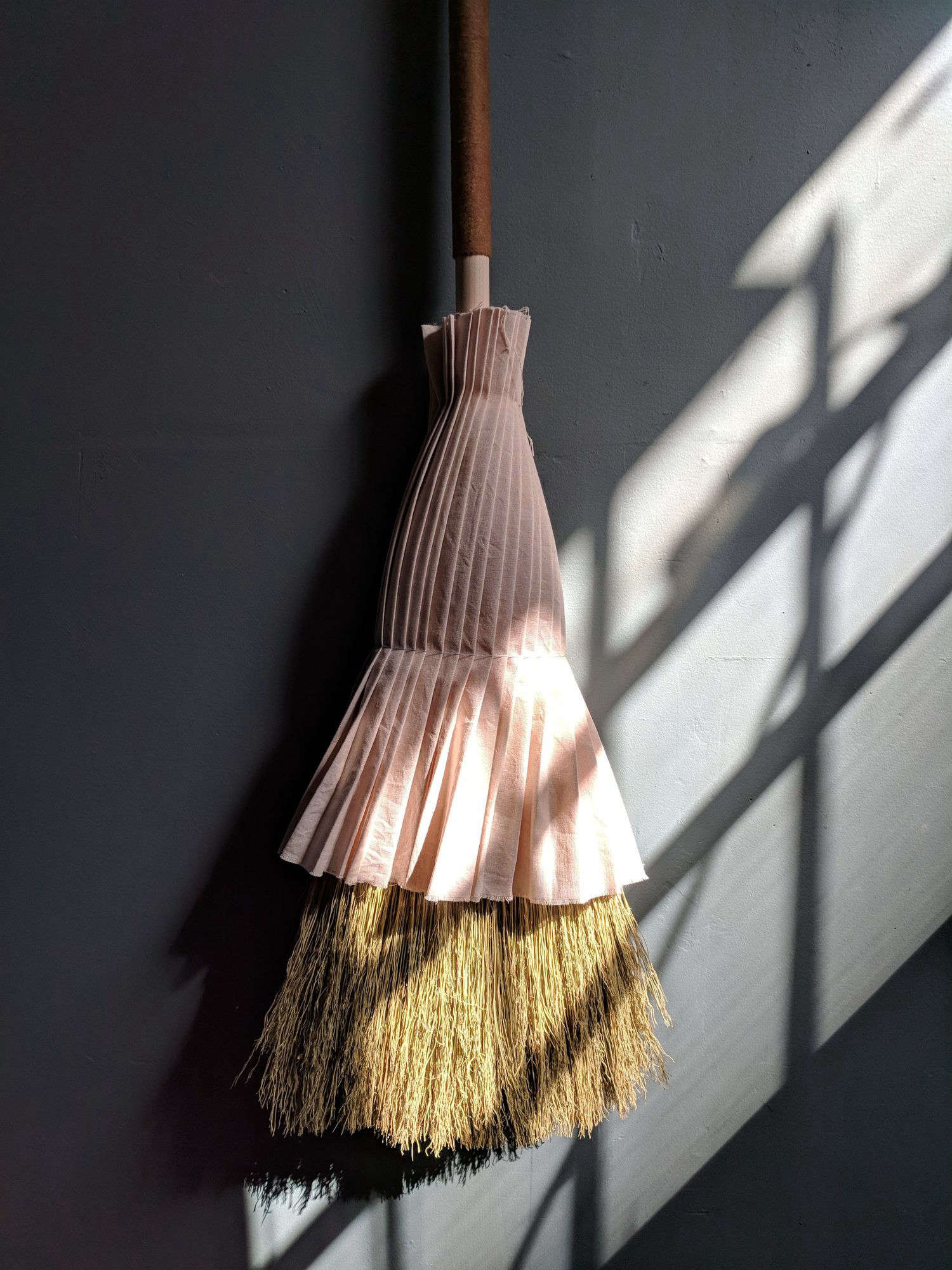 Object of Desire: Handmade Luxe Brooms from a Brooklyn Artist