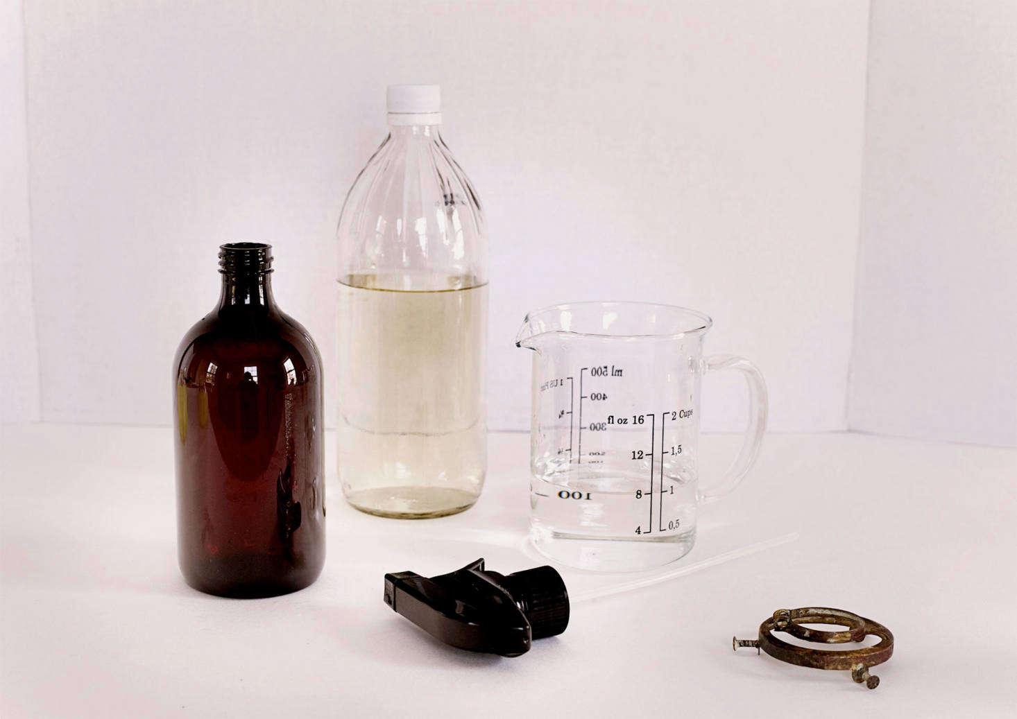 DIY: Vintage-Looking Mercury Glass Pendant Lights for $25