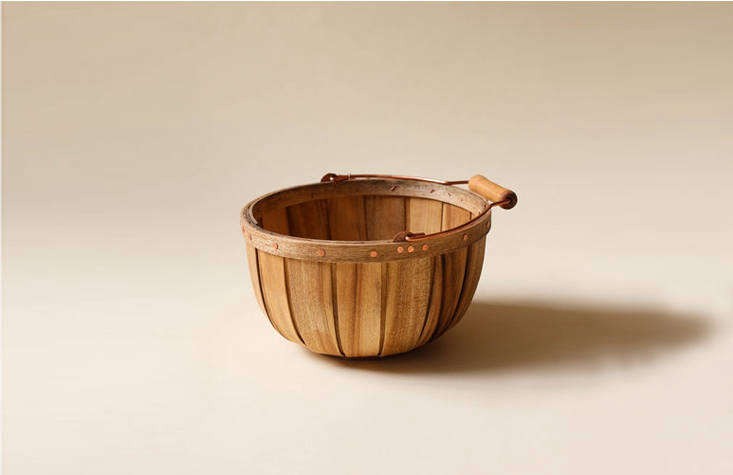 Myrtlewood Baskets (from $60) are made by a former boat builder in Oregon.