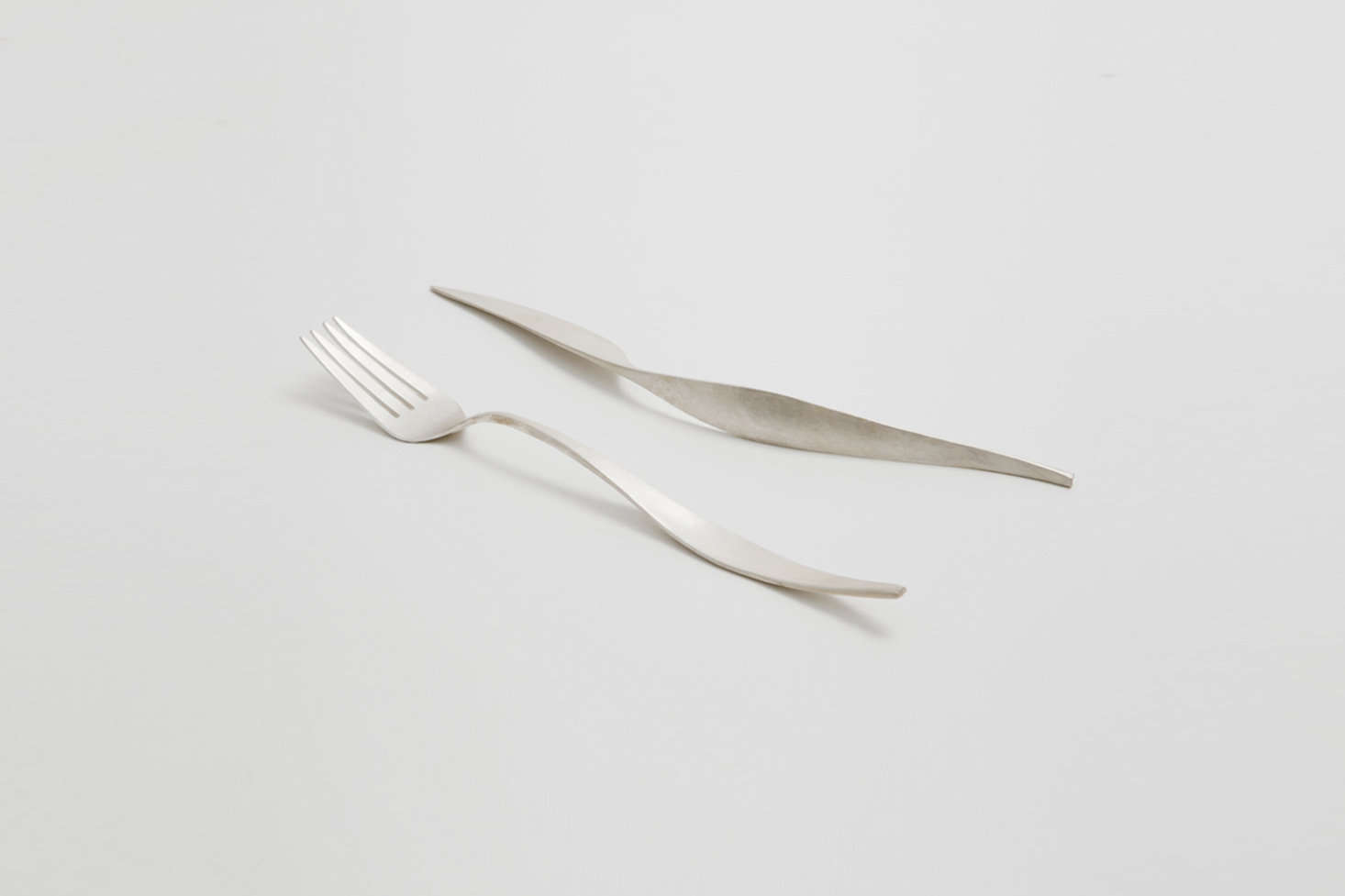 TheField Forged Flatware is hand-hammered from solid silver by designer Farrah Sit. For more, see Easy Pieces: New Artisan Flatware Designs.