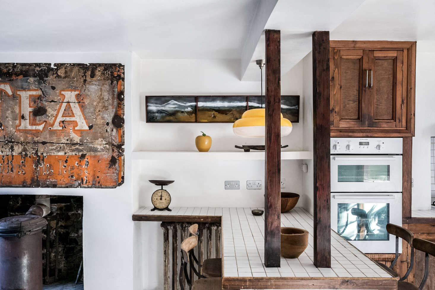 Kitchen of the Week: Artist Graham Carter\'s Upcycled Hackney Kitchen ...