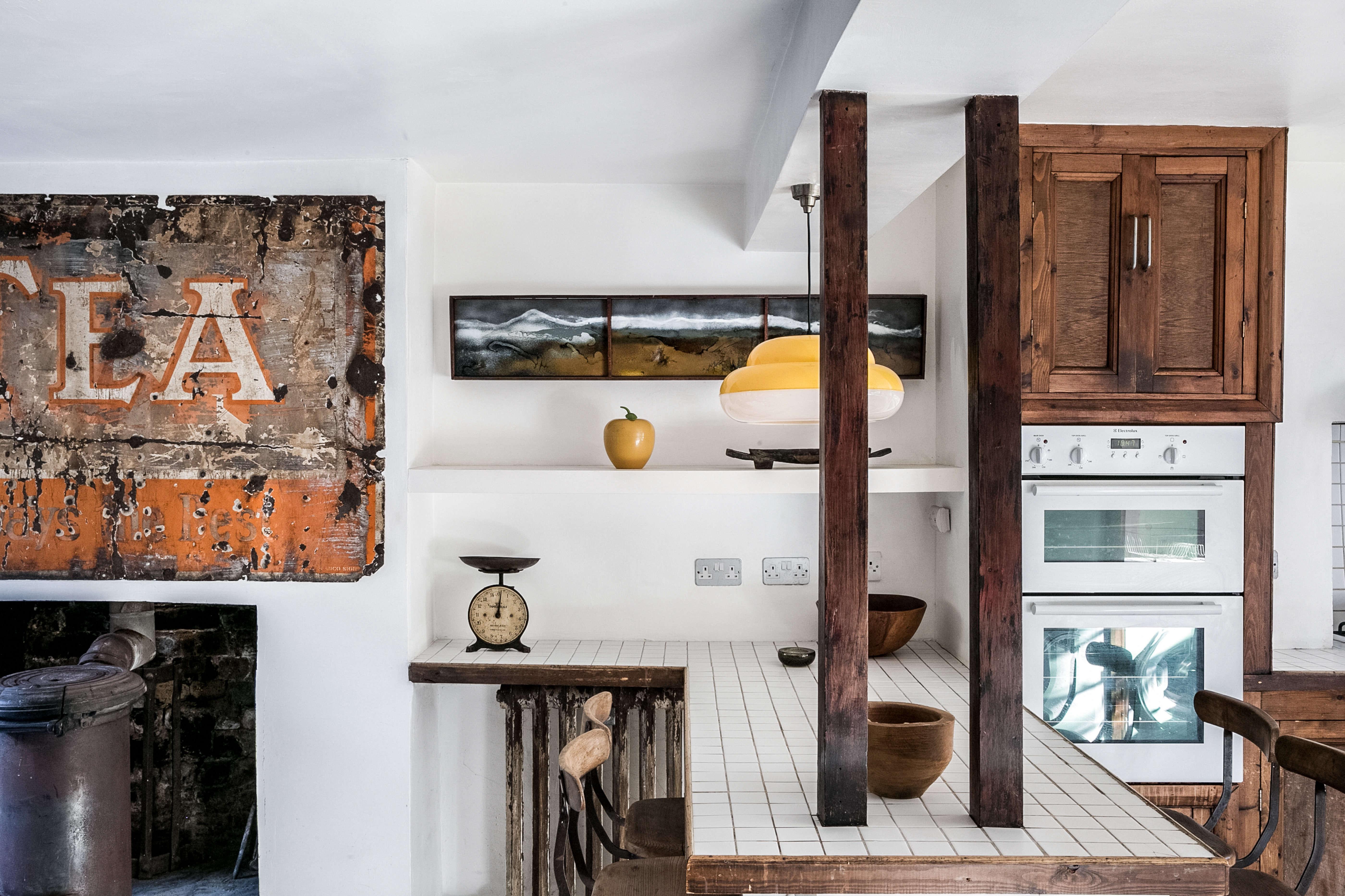 Kitchen of the Week: Artist Graham Carter\'s Upcycled Hackney Kitchen ...