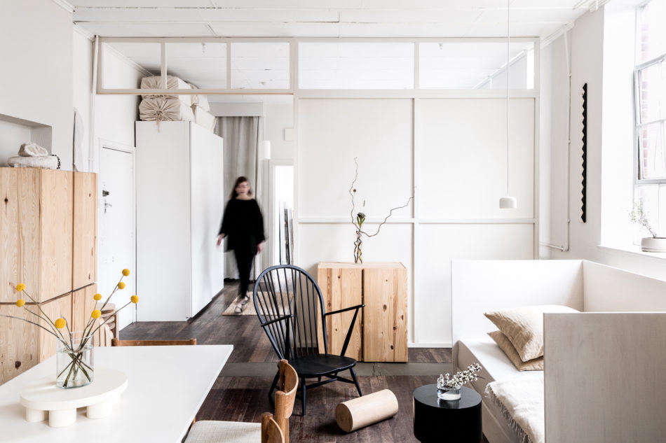 1 000 Square Feet On A Budget An Artist S Loft In North
