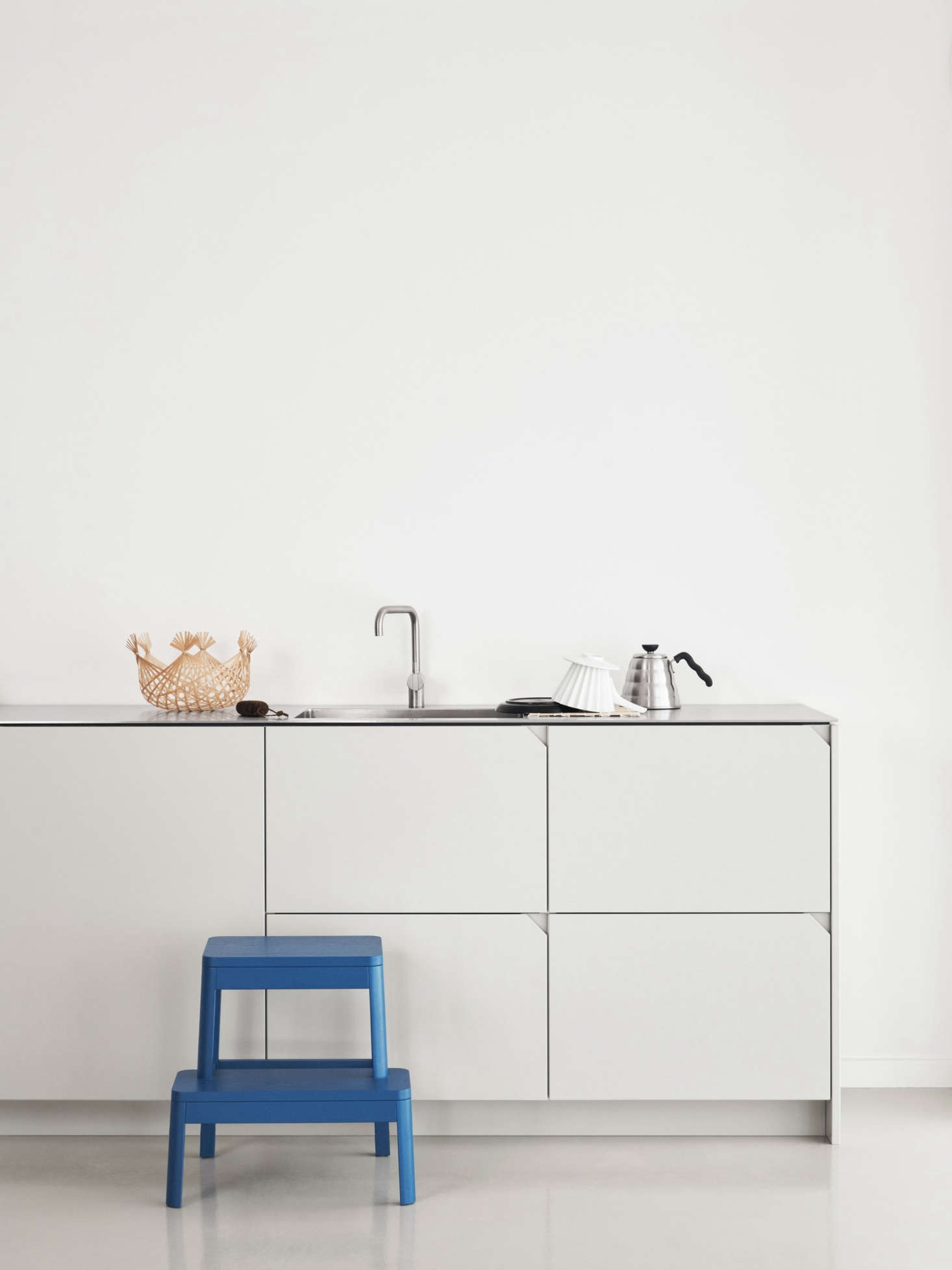 Take a look at a stylish Ikea kitchen hack by designer Cecilie Manz ...