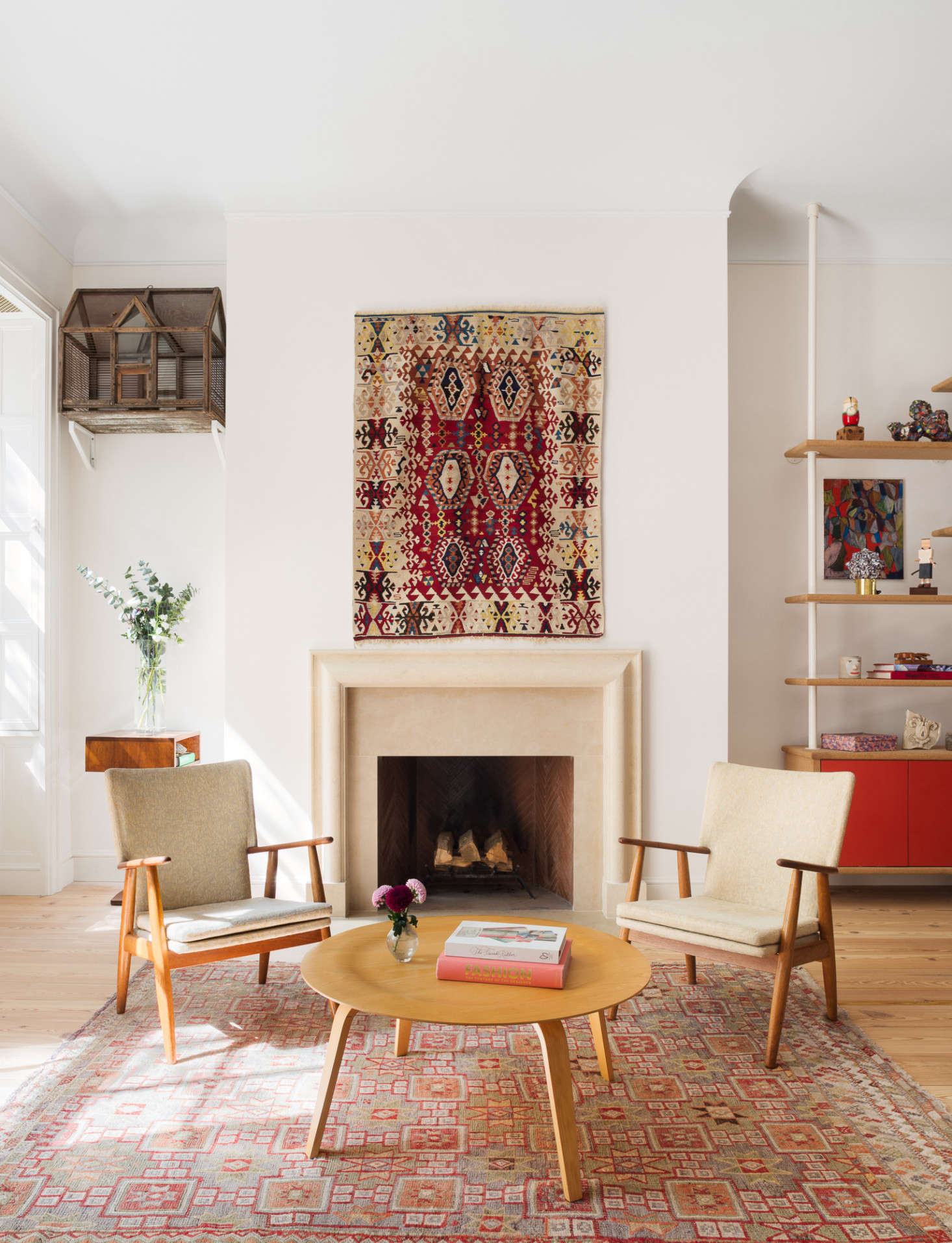Custom Room Design Online: An 1828 Federal Style Townhouse Remodeled With Color And