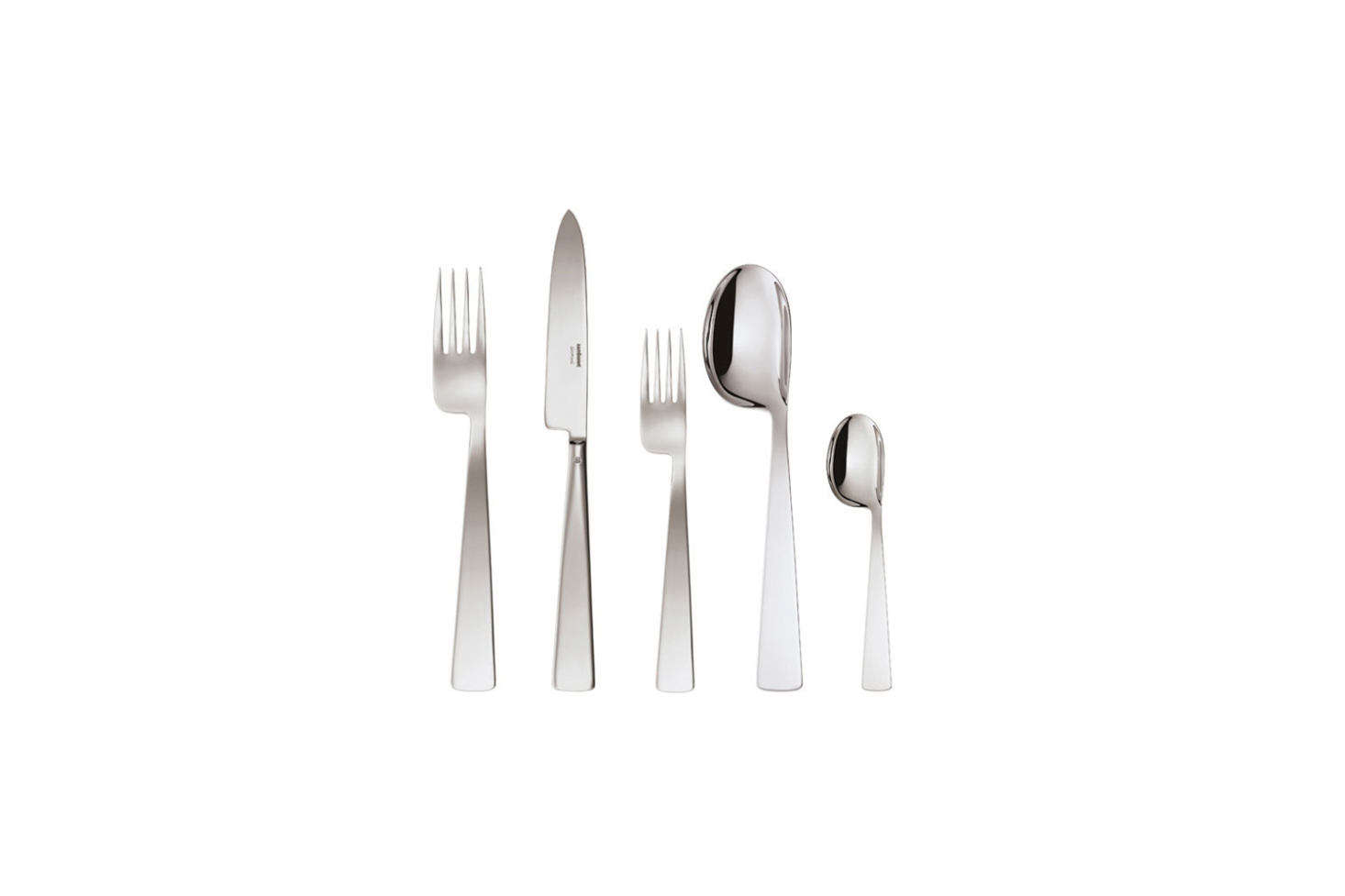 Another design by Gio Ponti for Sambonet, theConca Stainless Steel 5-Piece Place Settingis $85 at Sambonet. It's also one of our picks in 10 Easy Pieces: Quirky Sculptural Flatware.