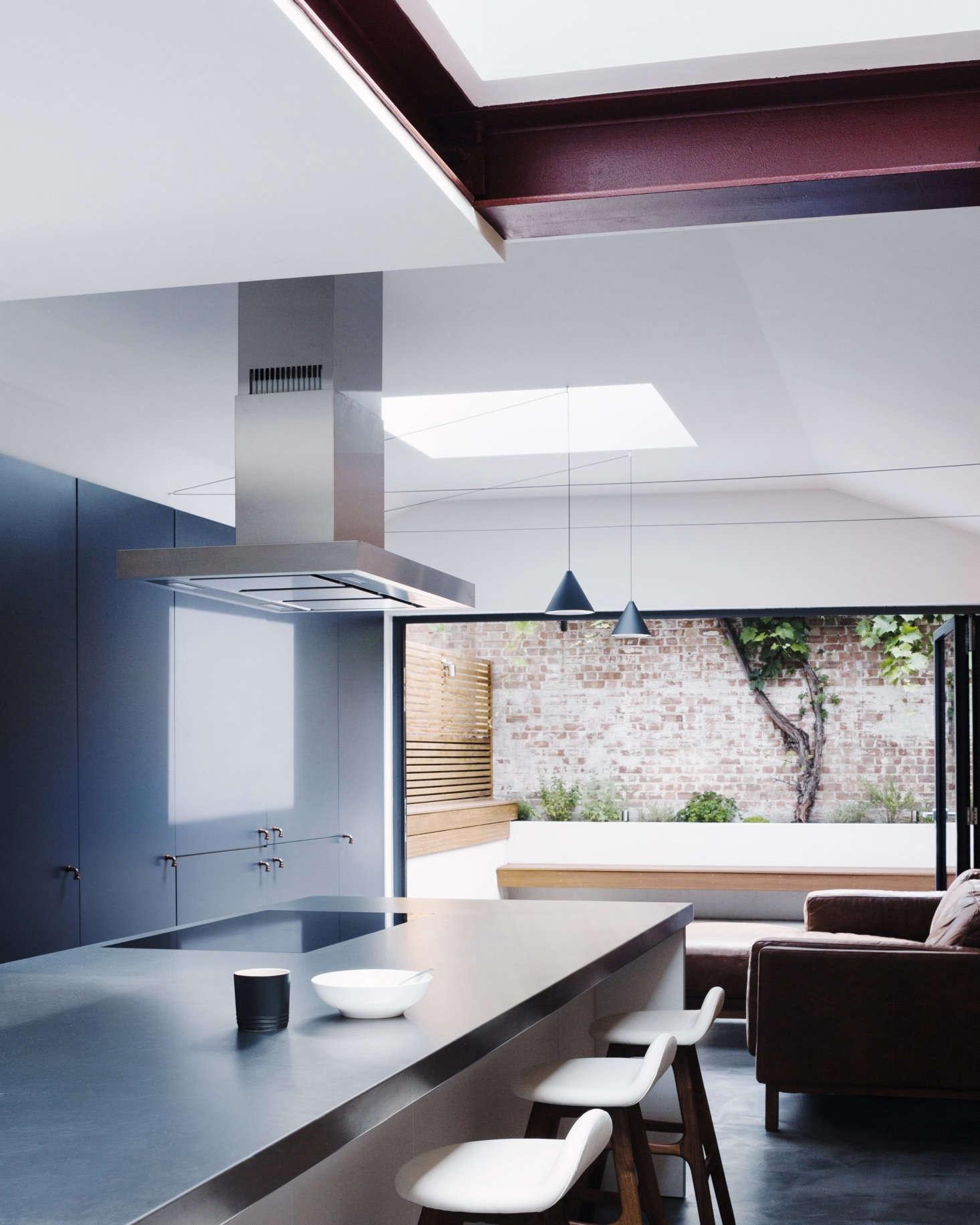 Astridge describes the south-facing kitchen as a &#8