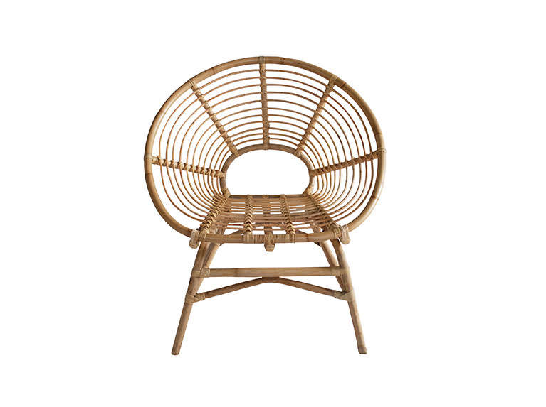 The Ring Rattan Chair takes inspiration from French furniture styles of the 60s. It&#8