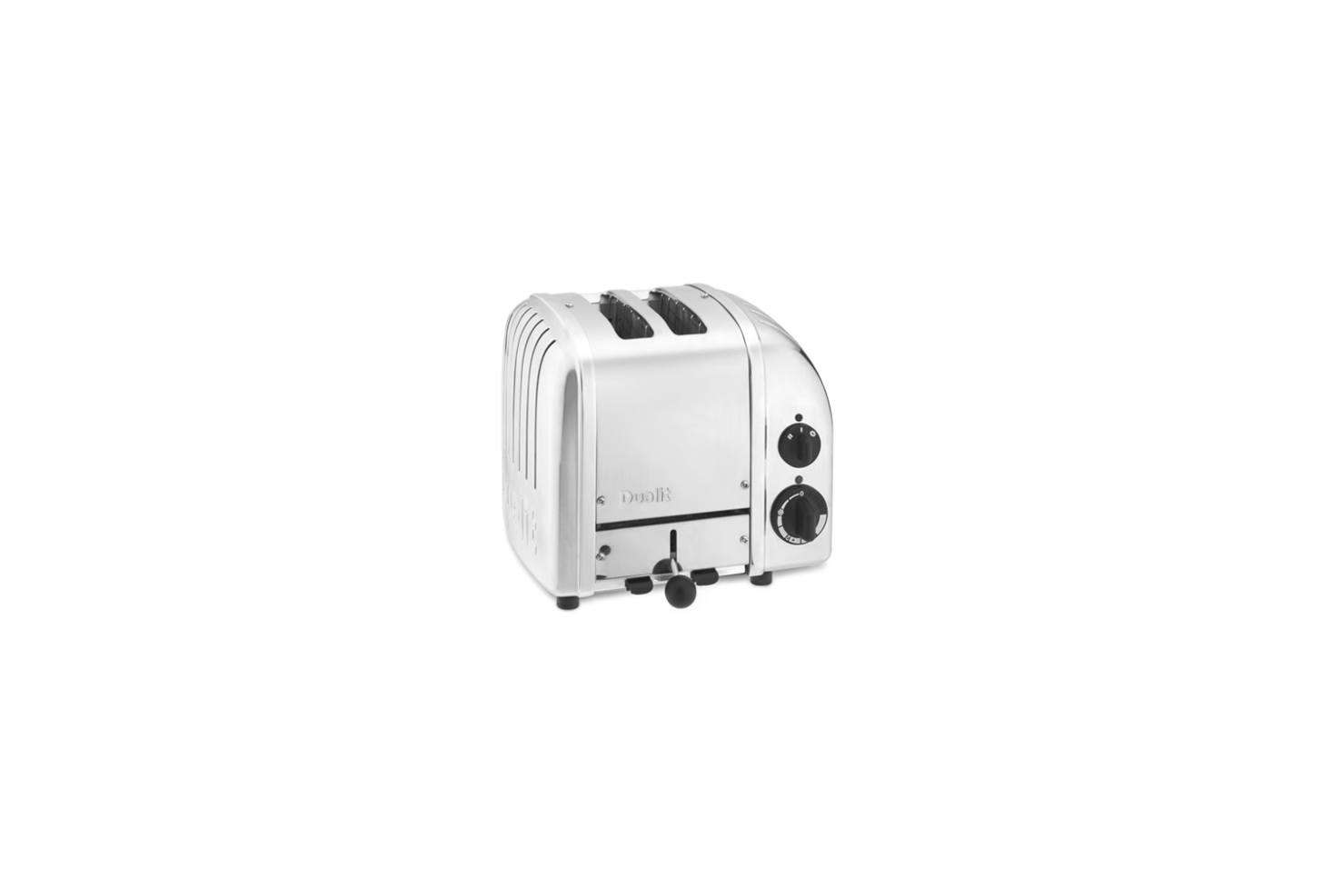 The Dualit 2-Slice Countertop Toaster in stainless steel is $259.95 at Williams-Sonoma.