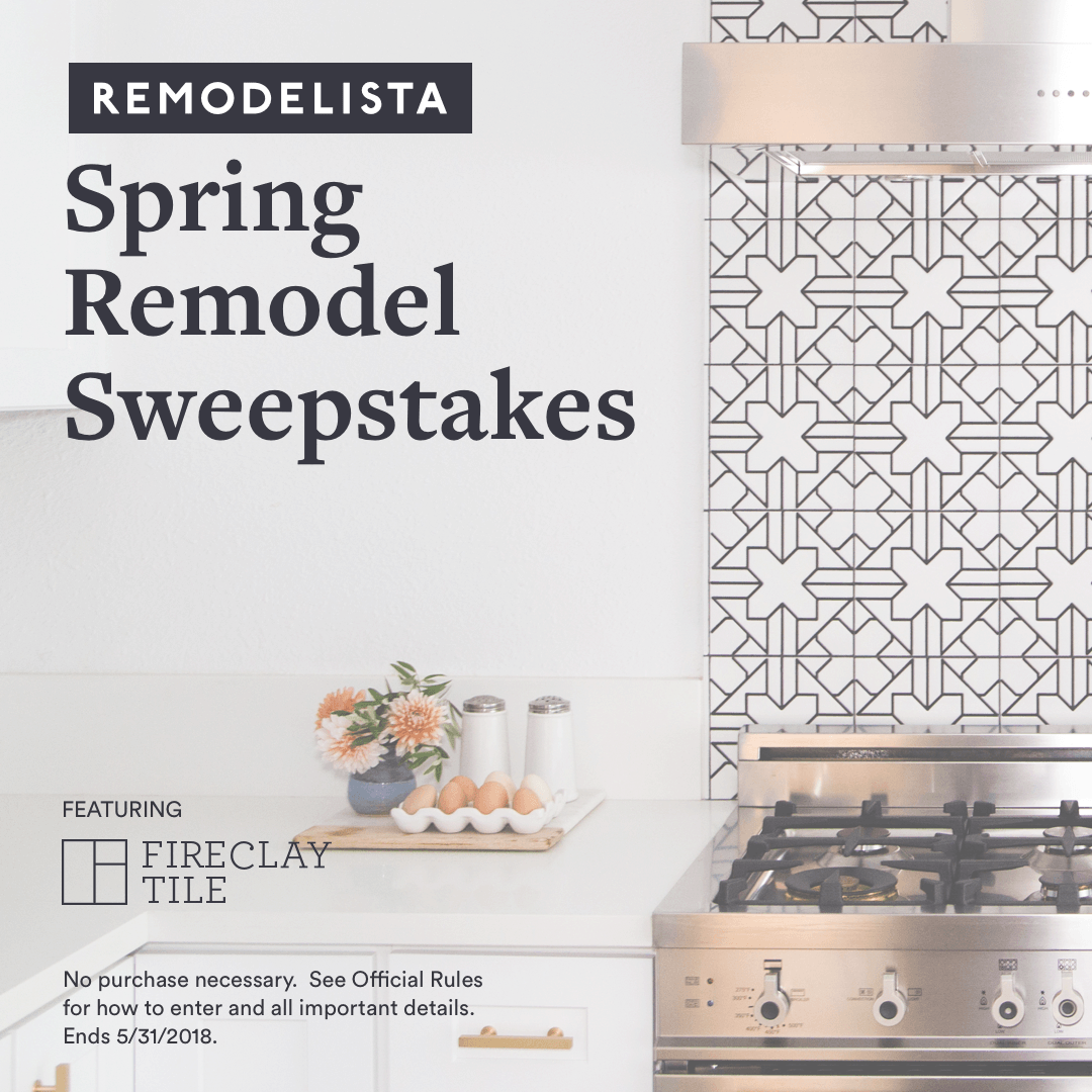 Enter to Win: $20,000 from Remodelista Plus $5,000 Towards Tile from ...