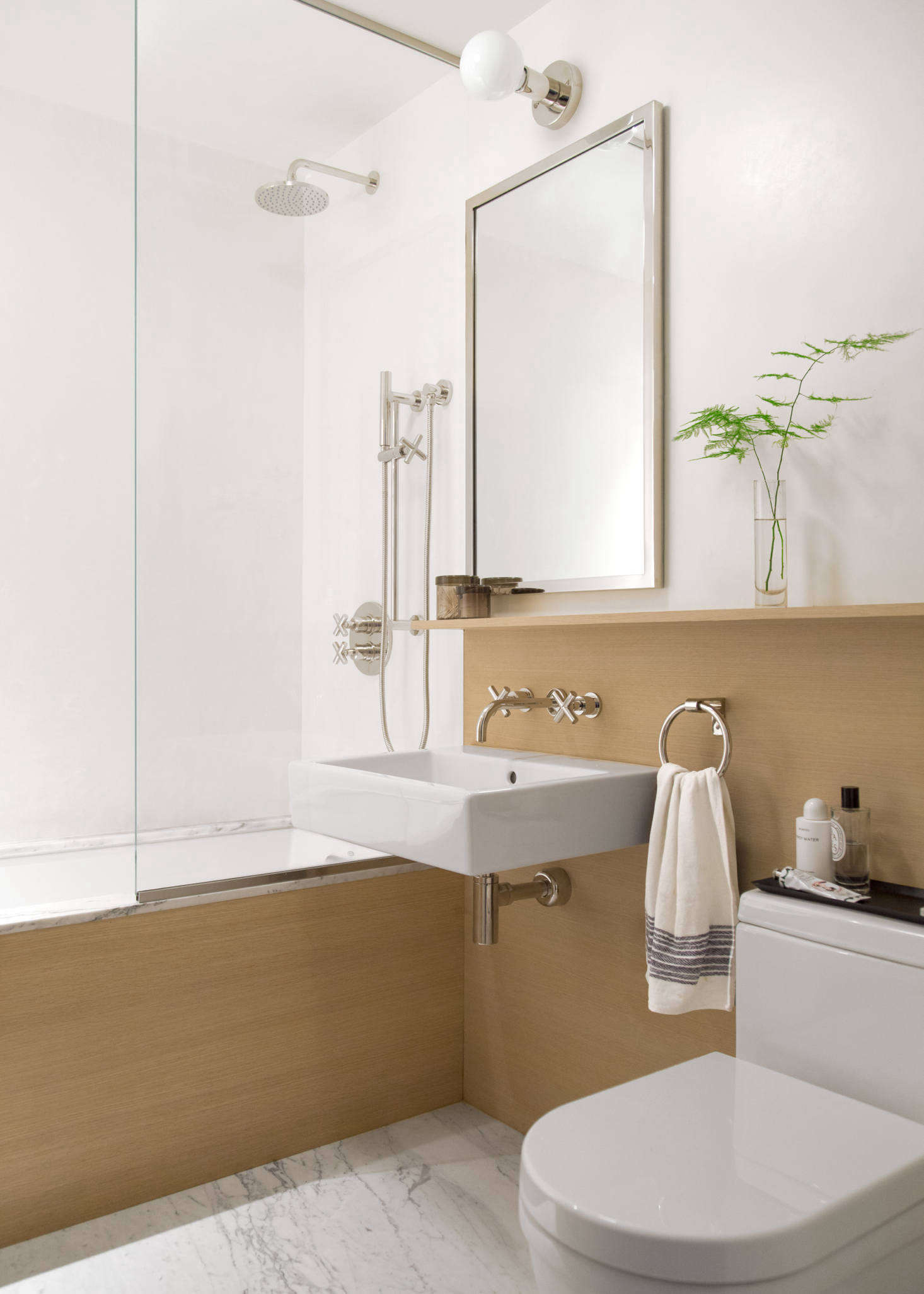 Before & After: A Trend-Proof Bath Remodel In Brooklyn - Remodelista