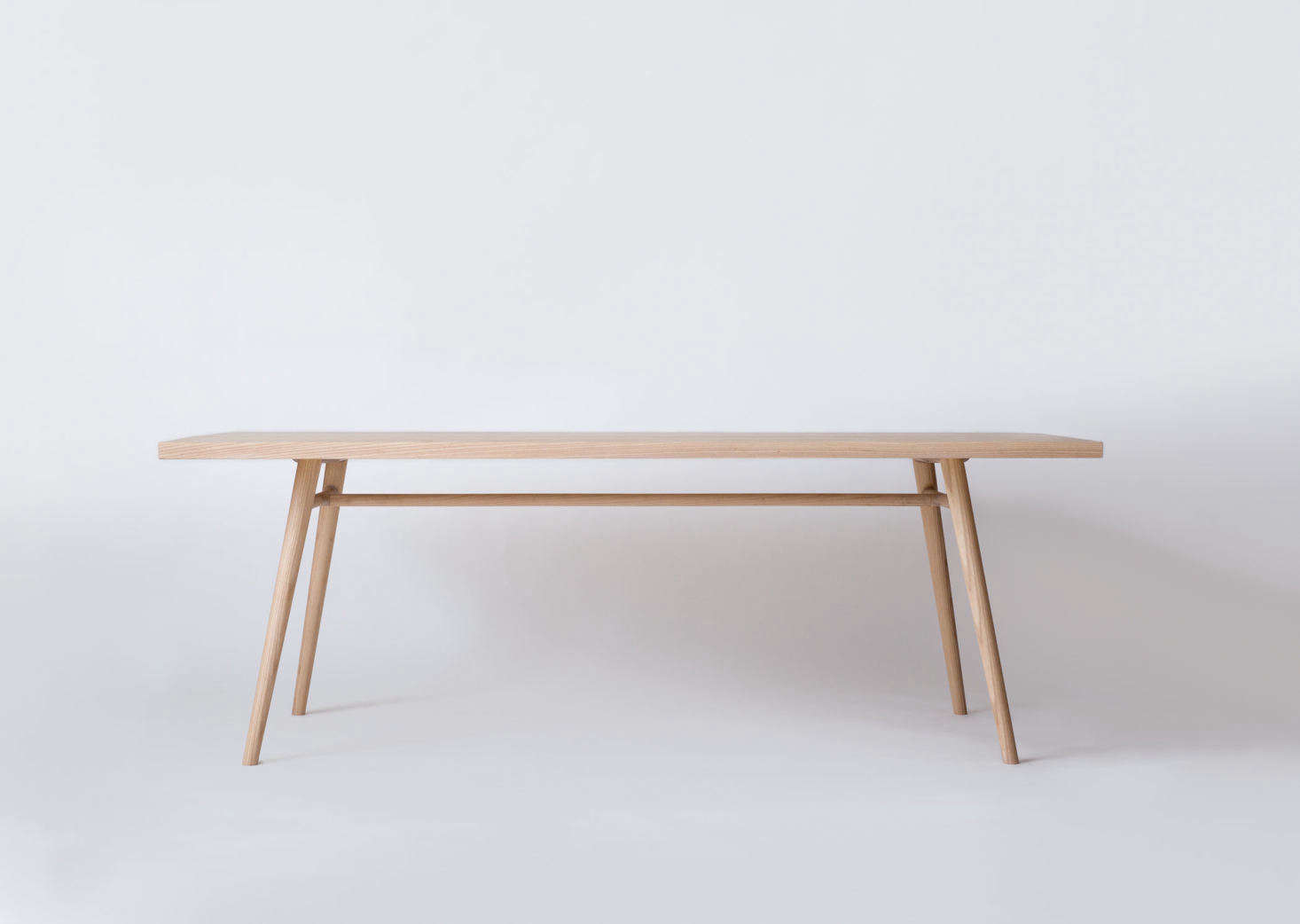 The anchor of the collection, the Bough Table, expresses a simplicity found both in Shaker and Sashimono furniture, two craftsmanship styles that inspire Simmering and Pauewn's work; starting at $5,800.