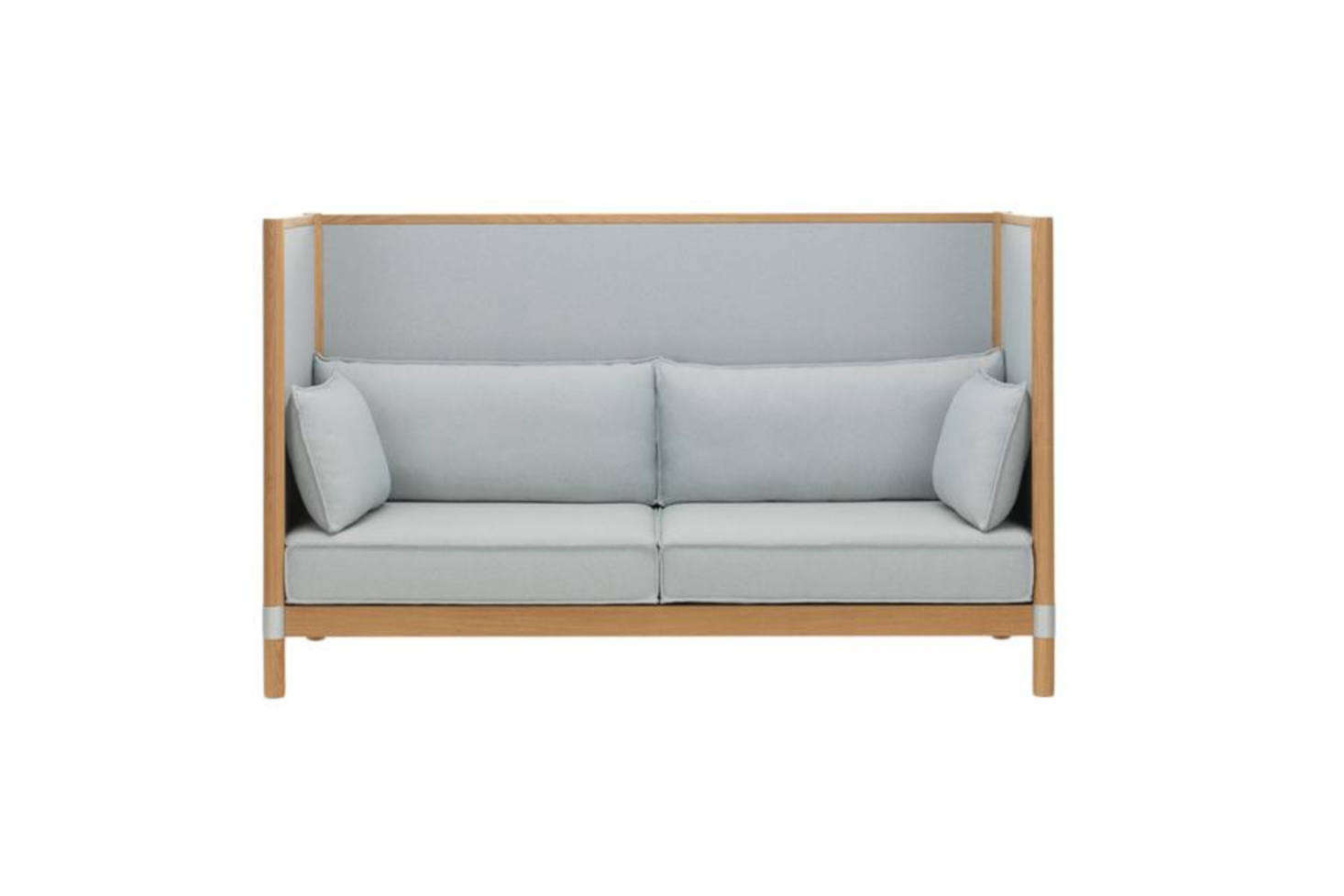 Another One From The Bouroullec Brothers For Vitra, The Cyl Highback Sofa  Has A Solid